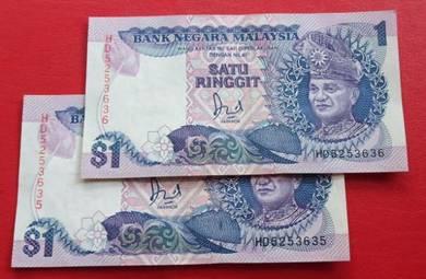 $1 Jaafar Hussein HD5253635-36 (2 pcs)