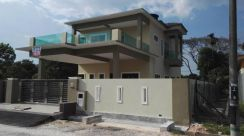 New double storey bungalow for sell