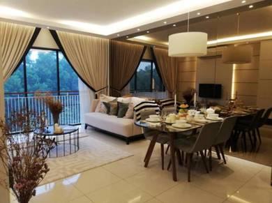 Luxury condominium Booking RM 1,000 Only Renai Jelutong Residence