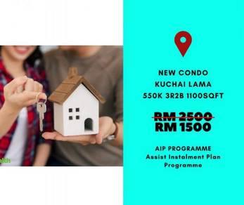 RM1500 Monthly Payment/FREE Apply Help to Own/Kuchai Lama/Sungai Besi
