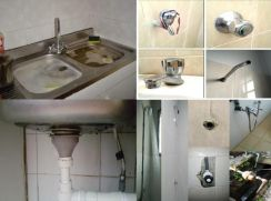 Yunus tukang baiki paip sinki tandas tersumbat