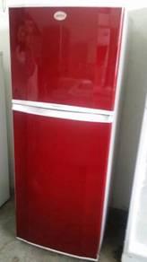 Refrigerator Red Samsung Freezer Peti Ais Sejuk
