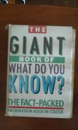 The giant book of what do you know?