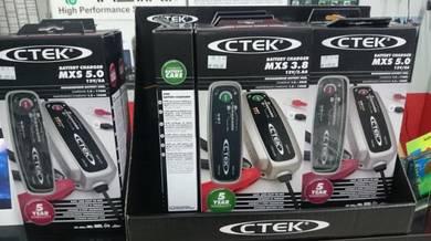 CTEK Battery Charger 0.8 MXS 3.8 MXS 5.0