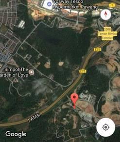 Sg Samak 28,000sft land for sale near Rawang Tesco