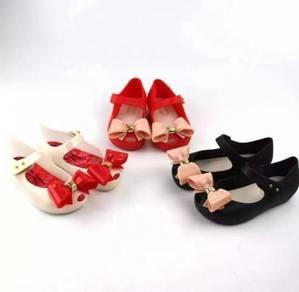 Kasut Ribbon Ribbon Jelly Shoes