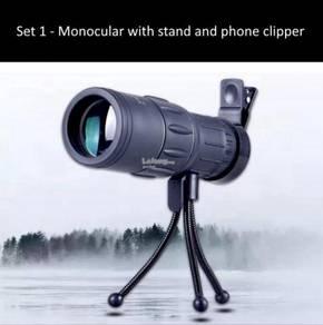 16x52 High Definition Monocular Telescope Binocula
