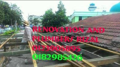 Repair roof leaks taman desa