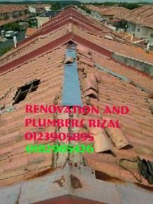 Repair roof leaks taman duta