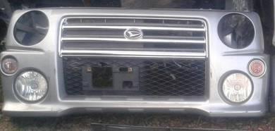 Bumper depan L9 rs utk kenari