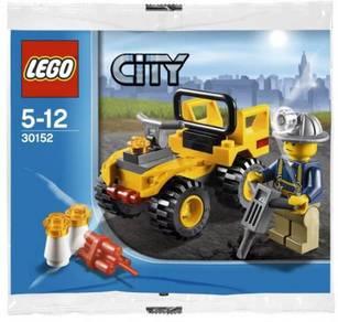 LEGO City 30152 Mining Quad
