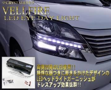 Toyota vellfire oem headlamp daylight
