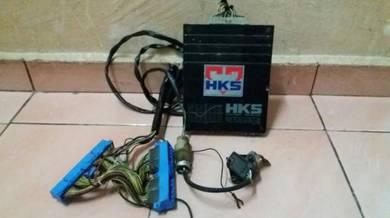 Hks f-con complete harness dan sensor ori jepun