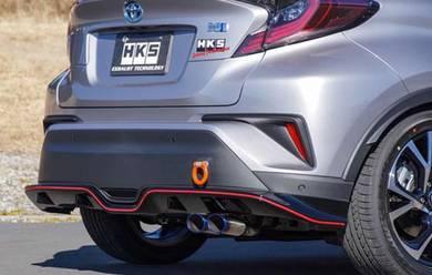 HKS Legamax Premium Exhaust System - Toyota C-HR