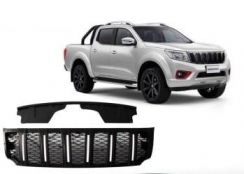 Nissan navara front grill hummer with led light