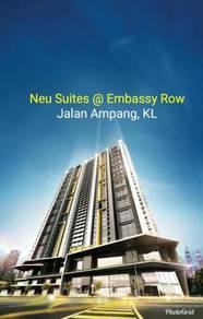 Neu Suites at Embassy Row Jalan Ampang Ampang Hilir near KLCC and LRT
