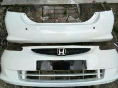 Bumper jazz fit and cover down engine good cond