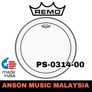 Remo PS-0314-00 Pinstripe® Clear Drumhead, 14