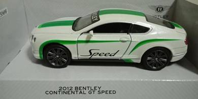 2012 Bently Continental GT speed