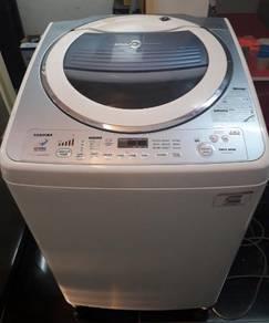 Mesin basuh 13 kg toshiba untuk di jual