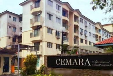 Pangsapuri Cemara Apartment 850 Sq Ft - Sri Kembangan RENOVATED