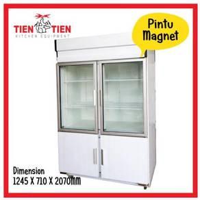 TIEN TIEN 4 Door Magnetic Chiller & Freezer RF/HT4