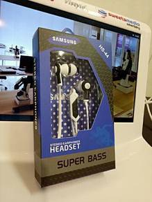 Samsung headset stereo earphone super bass