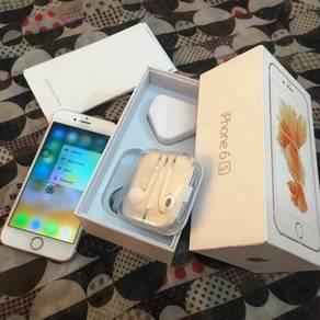 Iphone 6s 64gb Rose Gold MY Macam Baru PermpuanOwn