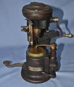 Antique american optical co. lens cutting machine