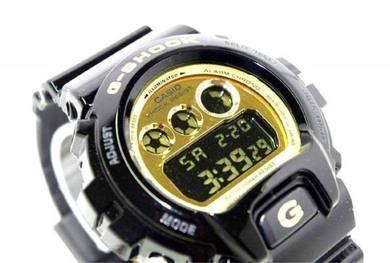 Watch- Casio G SHOCK DW6900CB BLACK GOLD-ORIGINAL