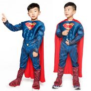 Superman Muscle Costume For Kids