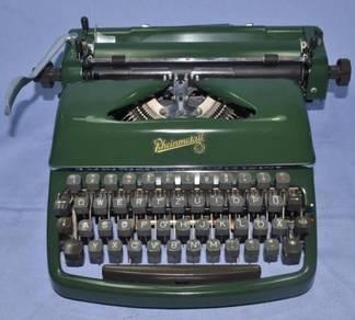 Rheinmetall germany mechanical typewriter