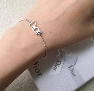Authentic dior silver bracelet /gelang / jewellery
