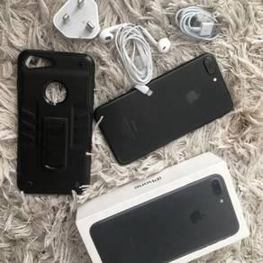 Iphone 7 plus 32gb Matte Black PerempuanUSER