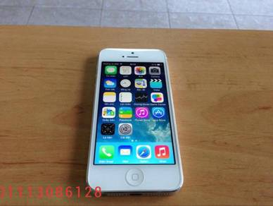 Iphone 5 -16gb rom set ll murah