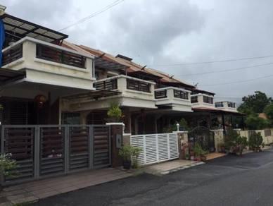 Double storey terrace at Happy Valley, near Ayer Itam market