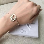 Authentic dior silver bracelet / gelang /jewellery