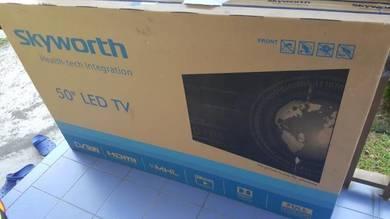 New TV skyworth fhd digital led 50