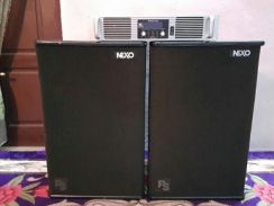 Ps Nexo 15' 900watt P.Amp