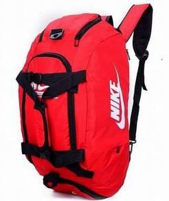 Nike Large Waterproof Travel Duffel Backpack Bag