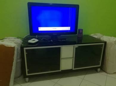 TV cabinet almari bed katil