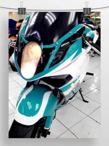 2011 Naza Blade 650 Petronas Set