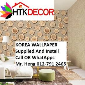 Pretty Wallcovering with Installation g60h909