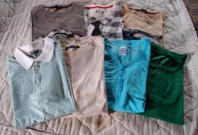 LOT TOPMAN Tee Shirts (7 Tees) Size S