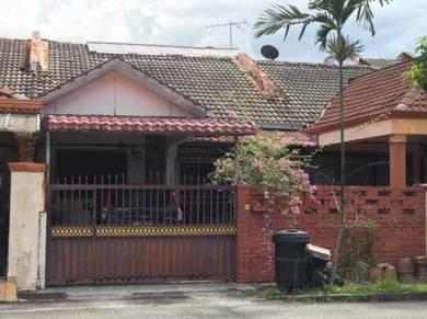 EXTENDED Single storey tarrace Taman Danau Kota Setapak KL