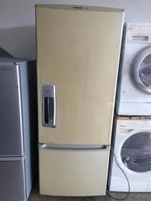 Panasonic fridge refrigerator 2d peti ais sejuk aa