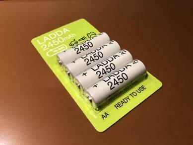 IKEA LADDA 2450 AA Rechargeable Battery