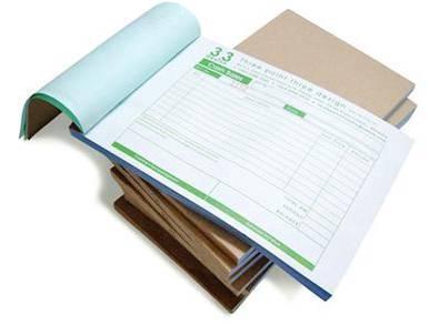BoxPackaging, Booklet, Bill Book Printing