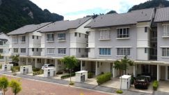 MontBlue 2Sty Townhouse Corner with Extra Land Sunway City Ipoh