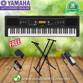 Yamaha psr-ew300 76-keys keyboard w / adapter